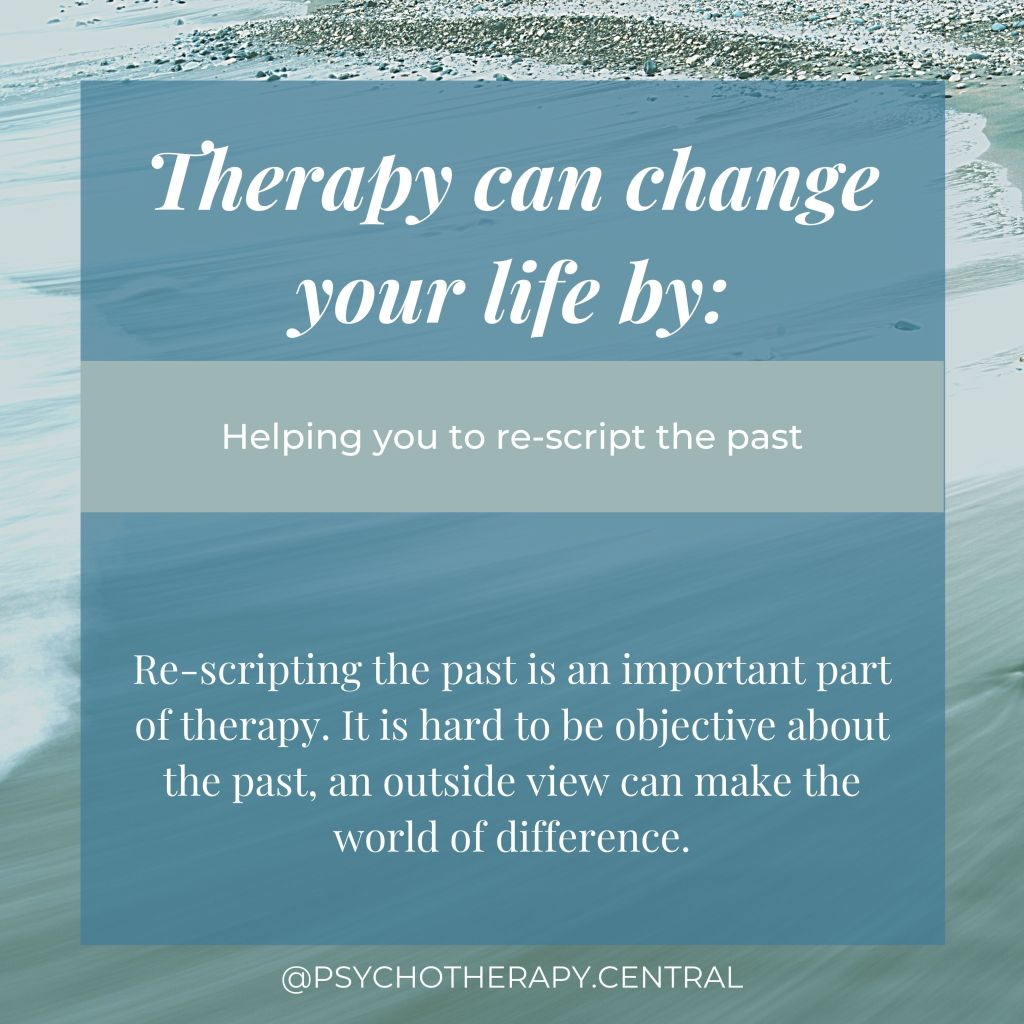 Therapy can change your life by: