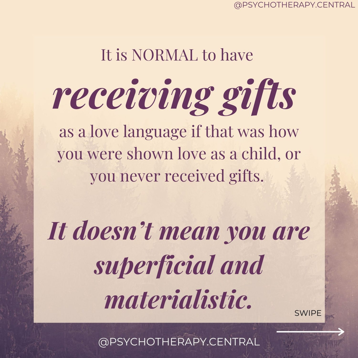 Wanting to Receive Gifts as a Love Language is not Superficial and Materialistic