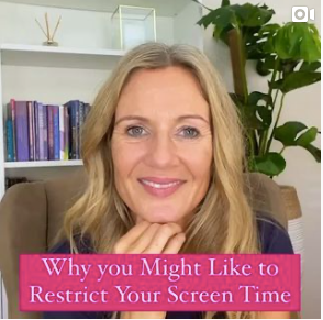 THINKING OF LIMITING SCREEN TIME FOR YOURSELF?⁣