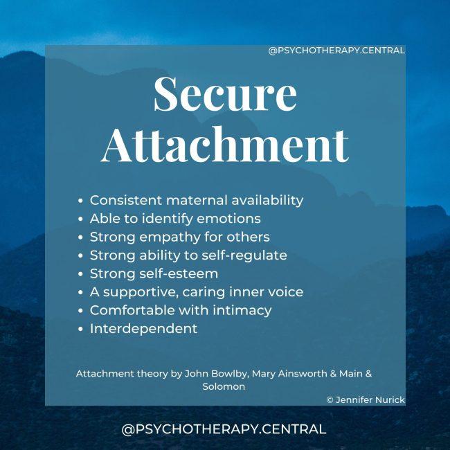 secure attachment