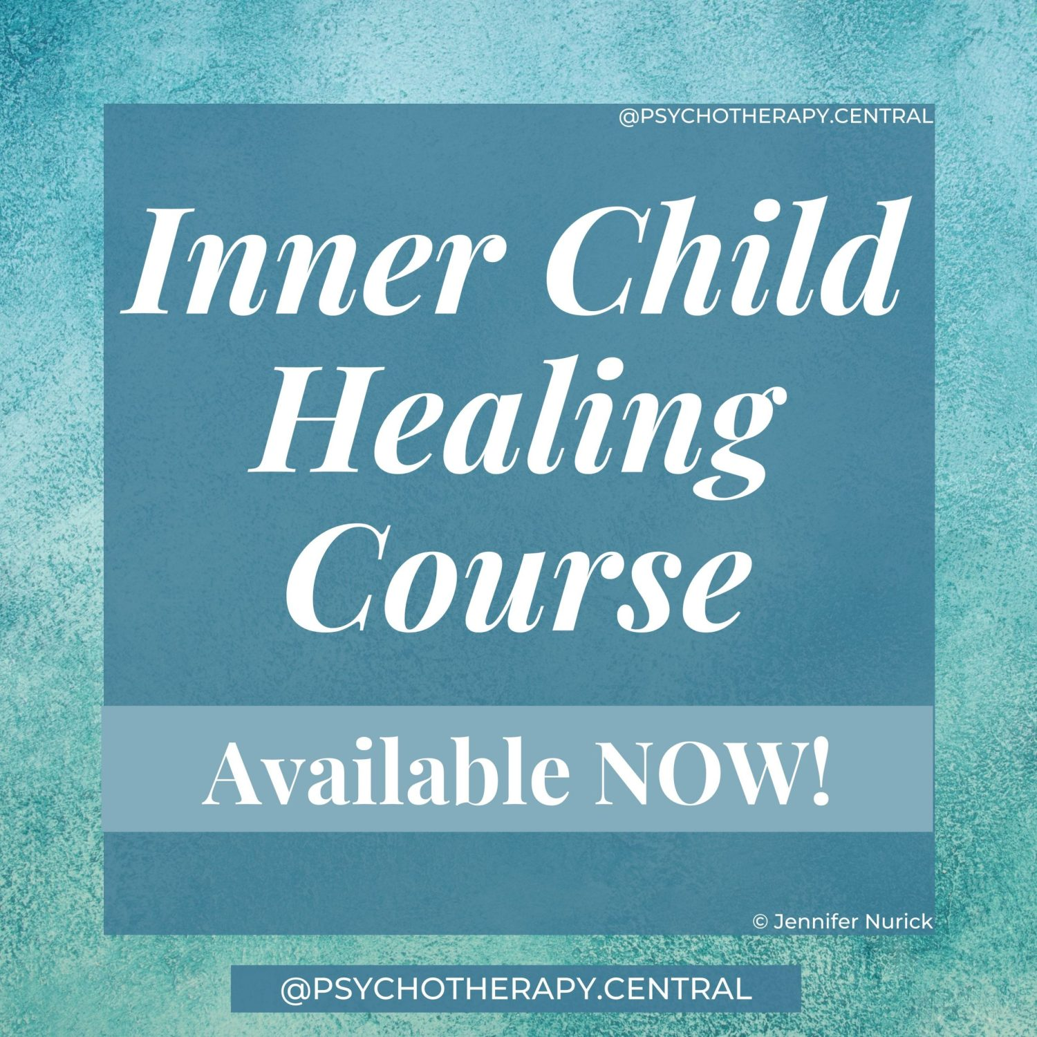 Inner Child Healing Course