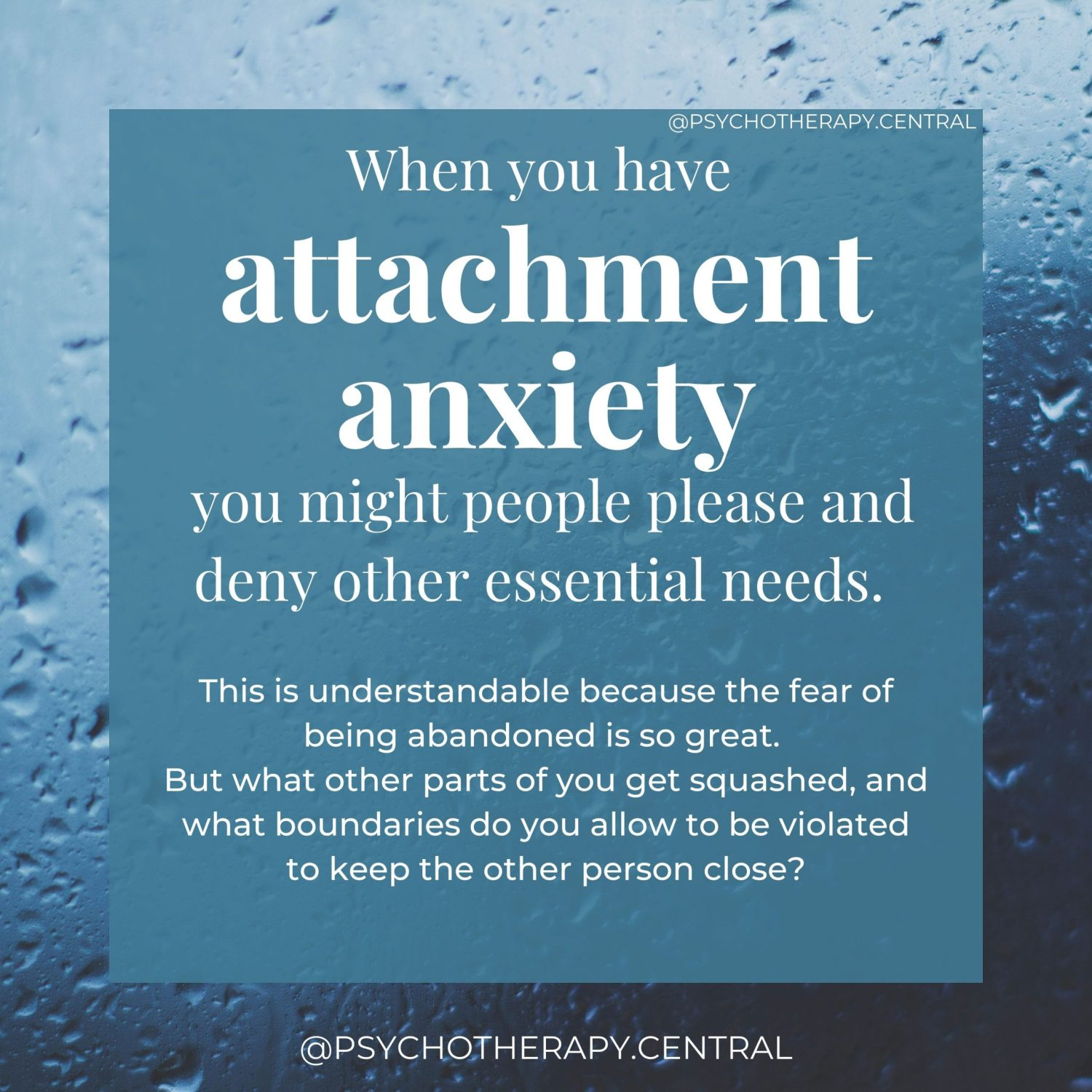 Anxious Attachment and the Danger of People Pleasing