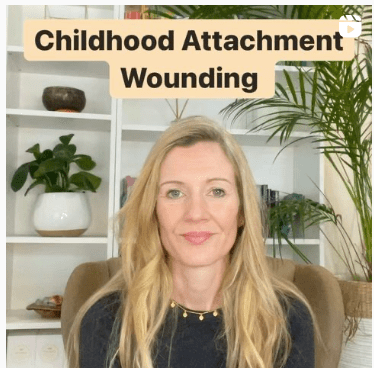 Childhood attachment wounding