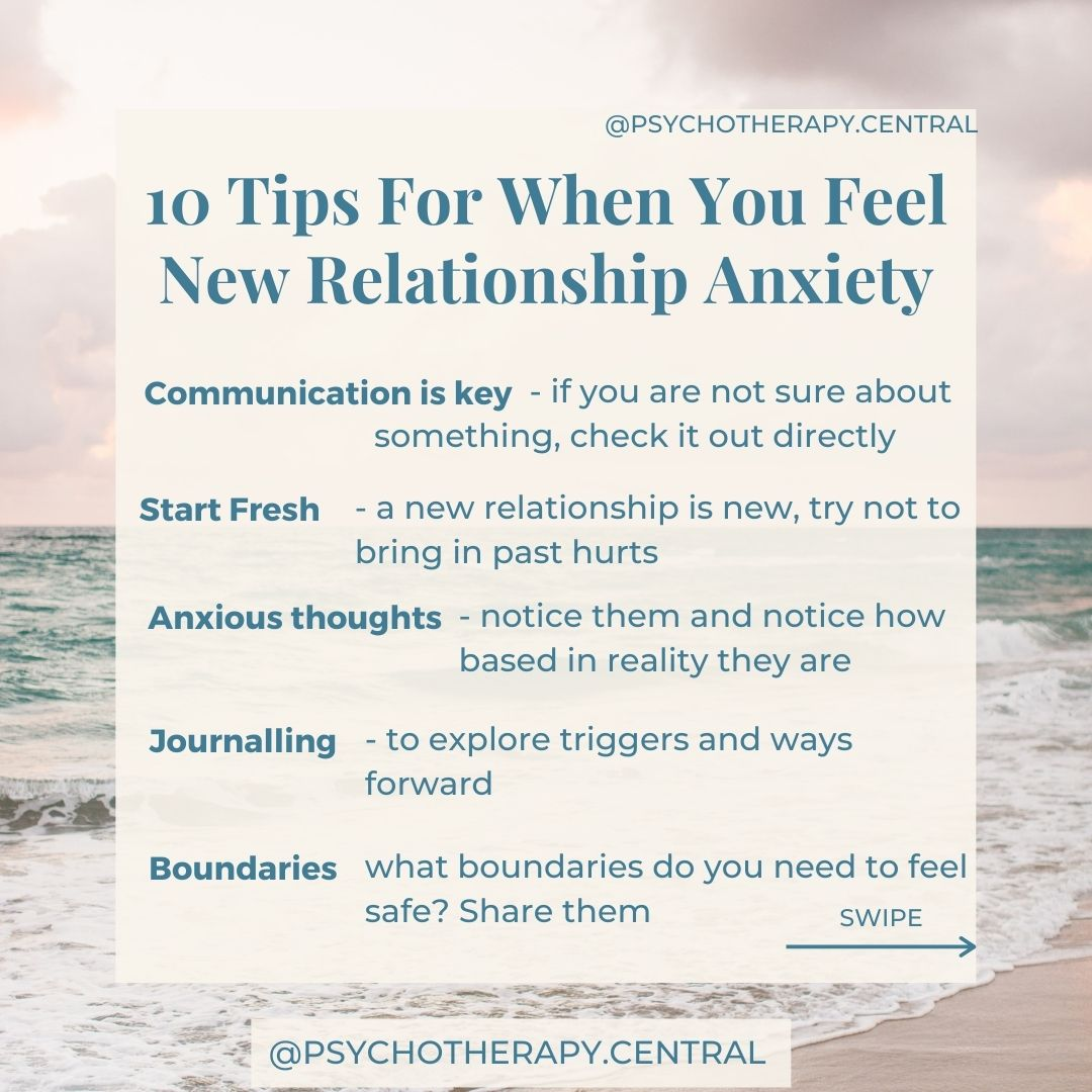 """10 Tips for When You Feel """"New Relationship Anxiety"""""""