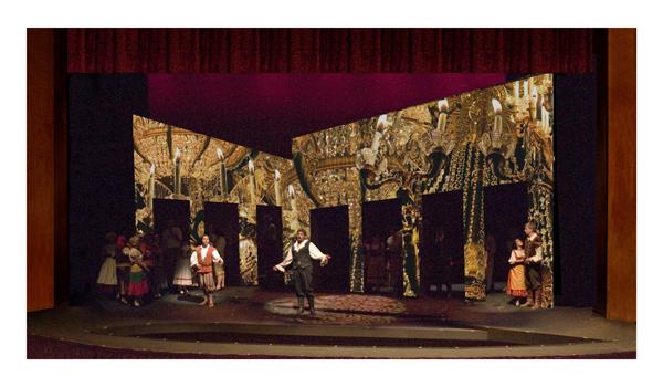 Production Photo of El Dorado Opera's Don Giovanni
