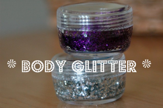 make your own body glitter