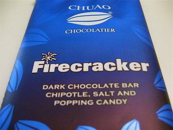 Chuao Firecracker Dark Chocolate Bar