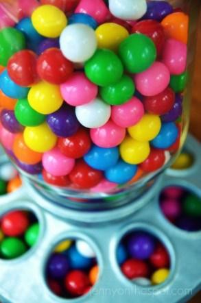 green bubble gum