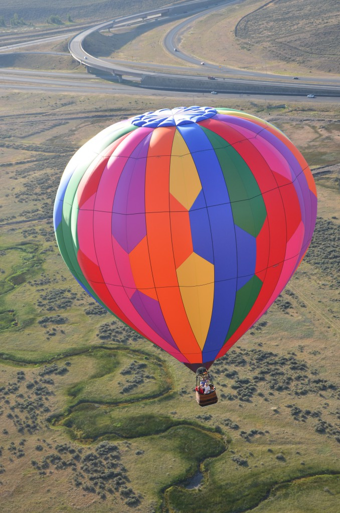 I'm on a hot air balloon via @jennyonthespot