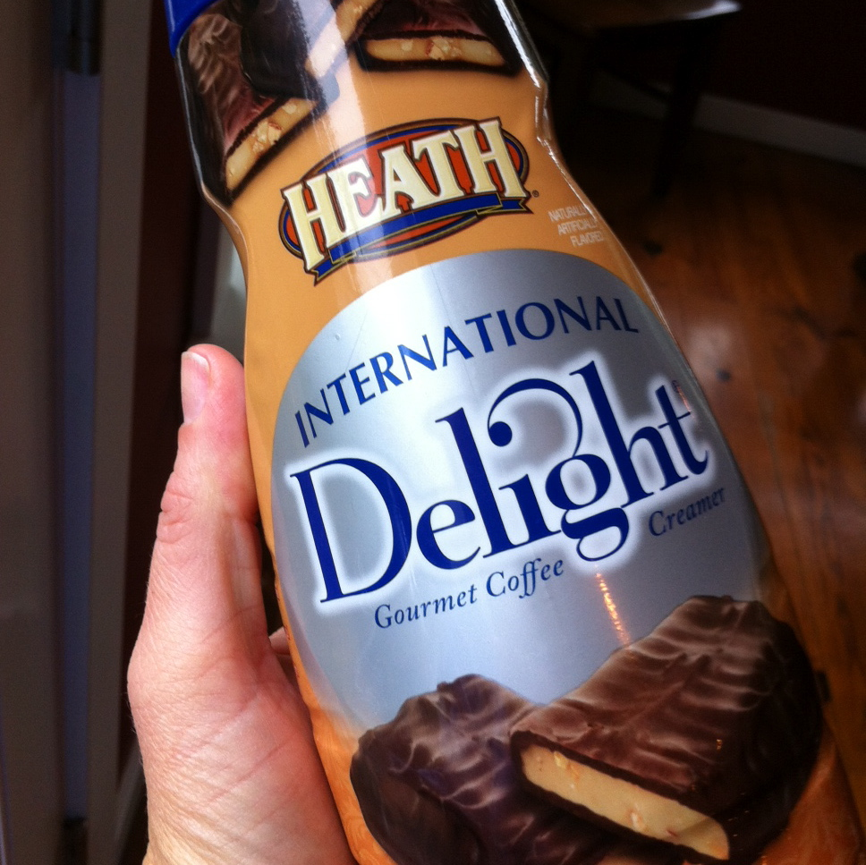 Today I choose International Delight Heath flavoered creamer via@jennyonthespot