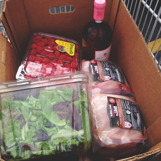 Shopping at for pork at Costco via @jennyonthespot