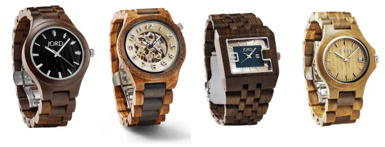 Jord wood watches for men