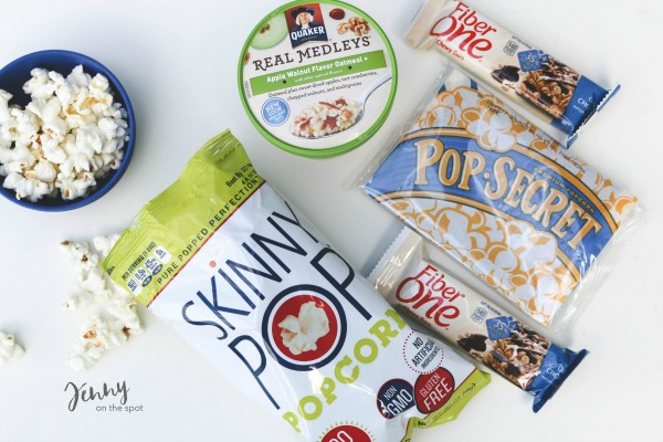 13 College Student Must-Haves - The Dorm Edition - on-the-go snacks via @jennyonthespot