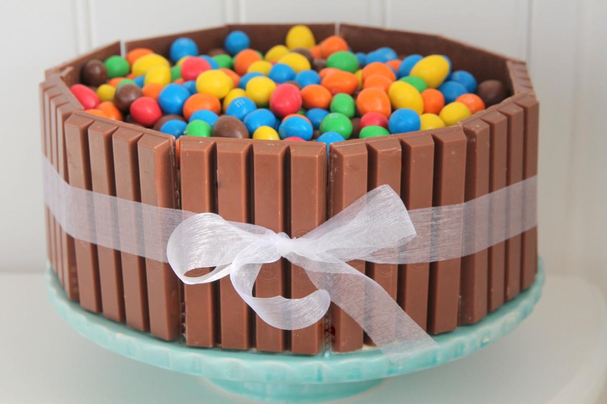 Kit Kat tårta