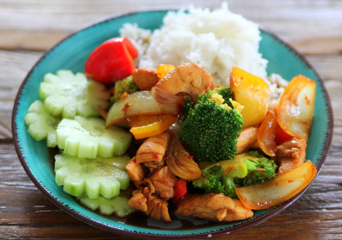 Recept thailändsk mat