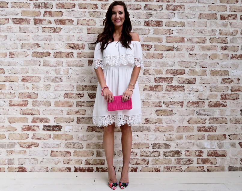 e4b69b48fbe The Little White Summer Dress Jennysue Makeup