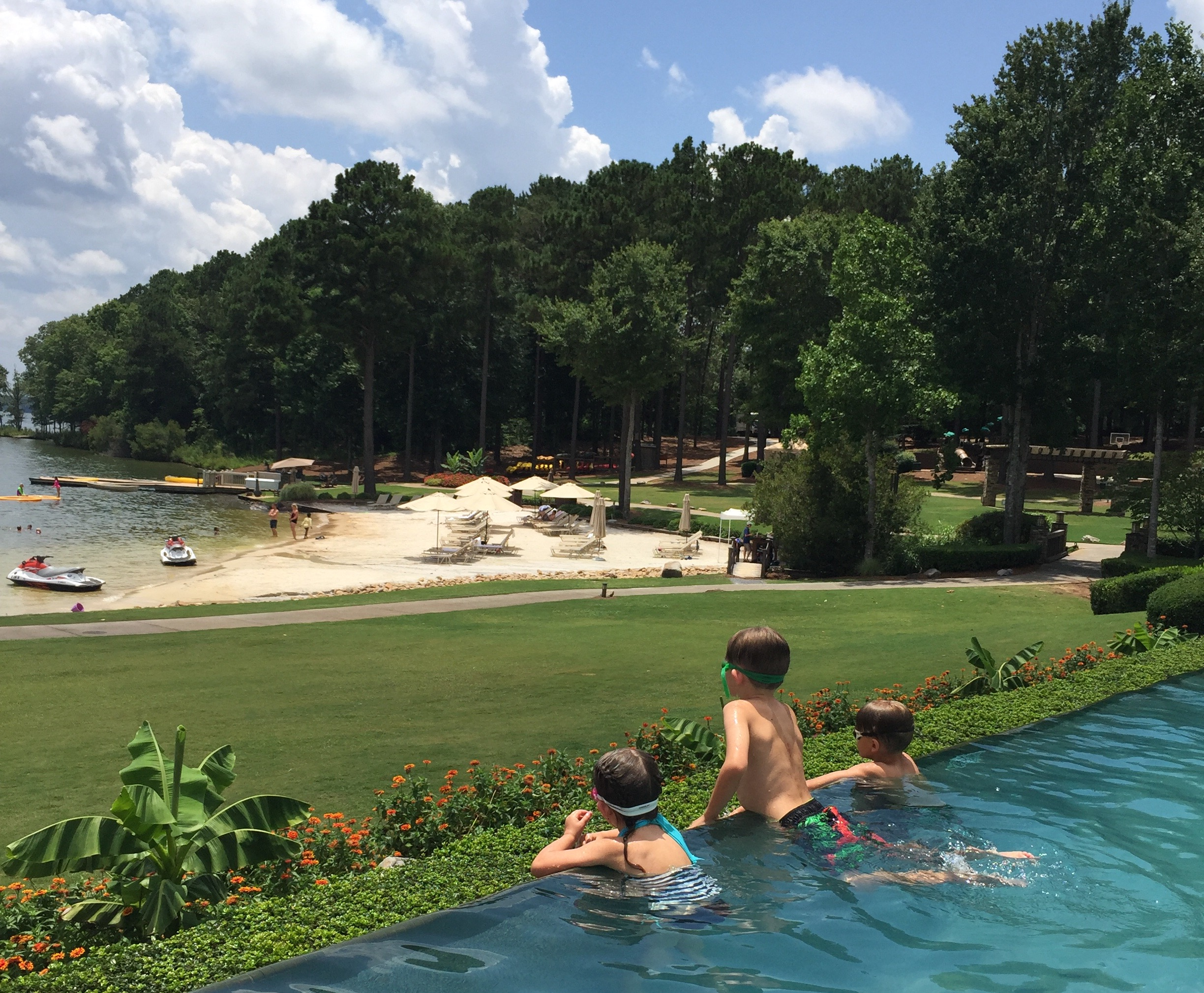 Mini Family Vacation At The Ritz Carlton Lake Oconee