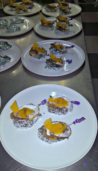 Recept oesters met passievrucht