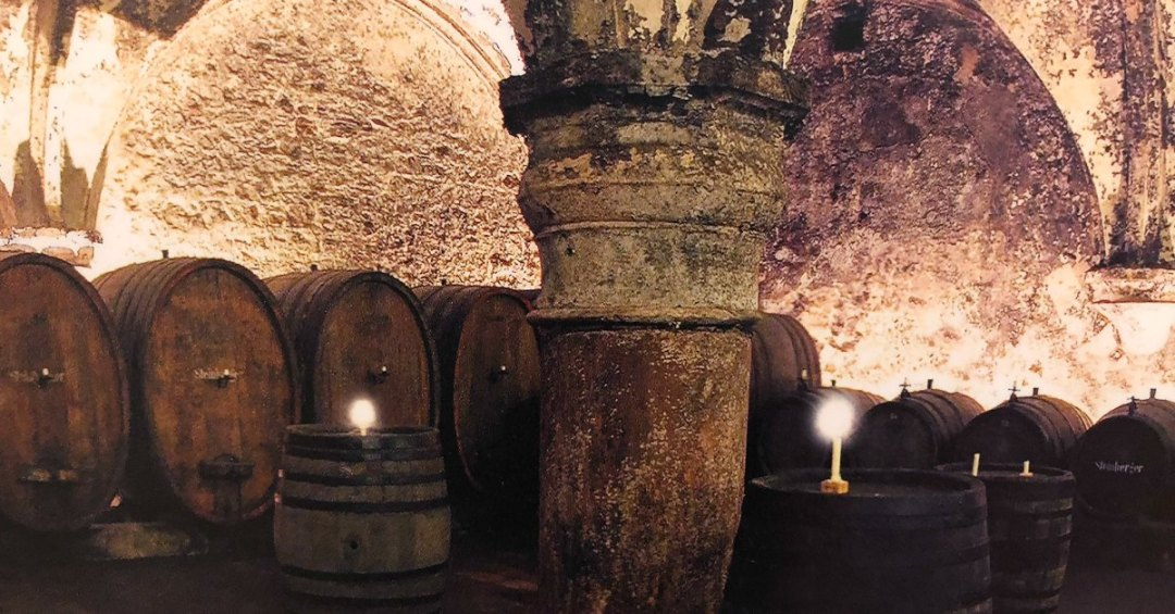 wijnproeverij in Duitsland kloster Eberbach