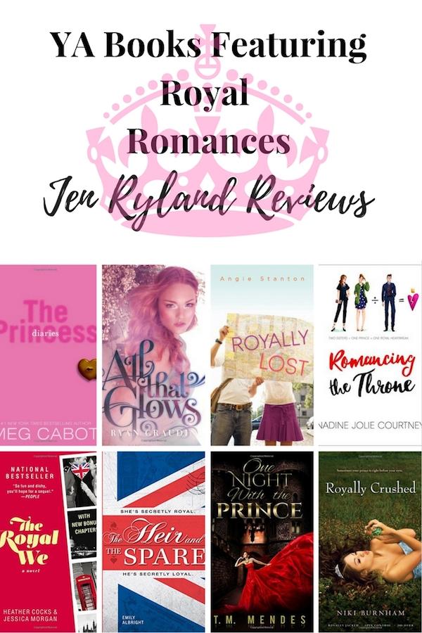 YA Books With a Royal Romance - Jen Ryland Reviews