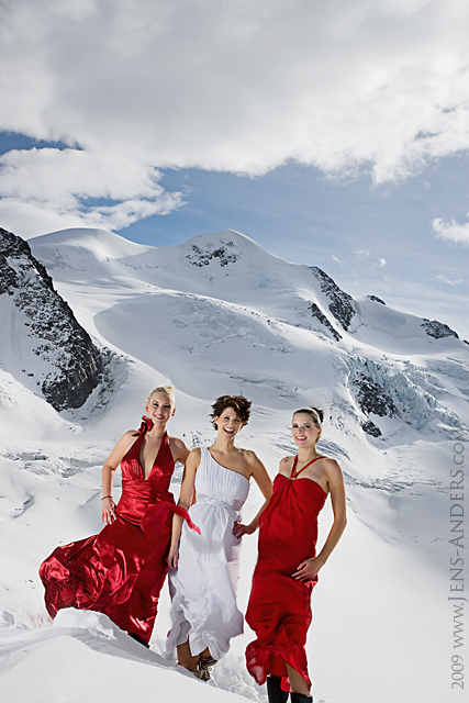 Miss SHG Gletscher Shooting