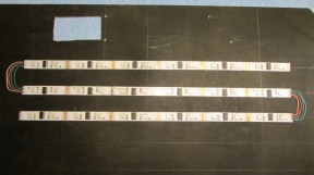 LED Stripes aufkleben
