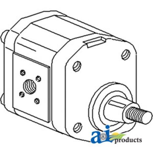 Deutz (Allis) 6240 Tractor Pump, Hydraulic (w/ Vario Cab)