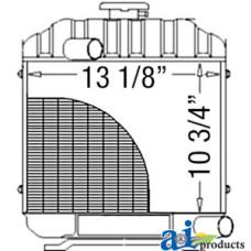 Kubota B6100 Radiator & Cooling System