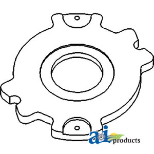 Oliver 1755 Tractor Adjuster Disc, Primary Brake (SN 239384>)