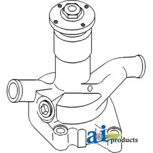 Zetor 3340 Tractor Pump, Water (Eng. Z5201)