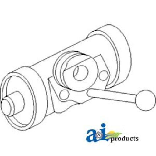 Zetor 3011 Tractor Cylinder, Wheel Drum (RH)