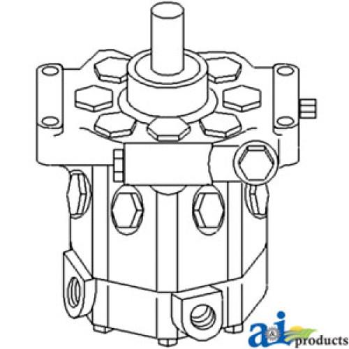 John Deere 2150 Tractor Re-Mfg. Hydraulic Pump (23cm3