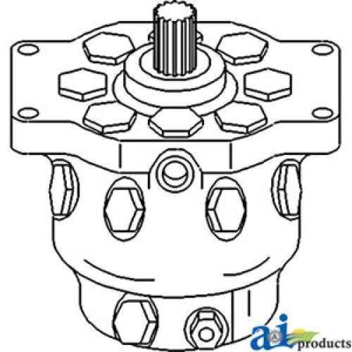 John Deere 440B Skidder Re-Mfg. Hydraulic Pump
