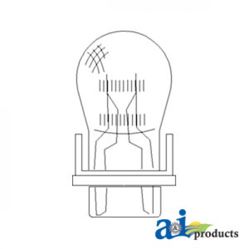 John Deere 9600 Combine Bulb, Light; Front & Rear Turn