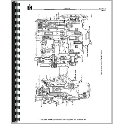 International Harvester UD264 Power Unit Service Manual