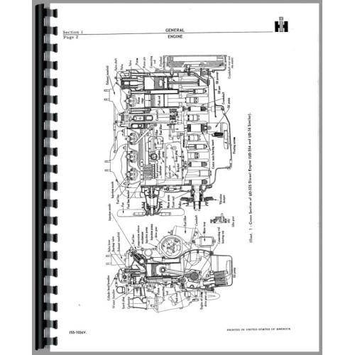 Galion T-600 Grader IH Engine Service Manual