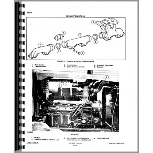 Allis Chalmers 4W-305 Tractor Service Manual