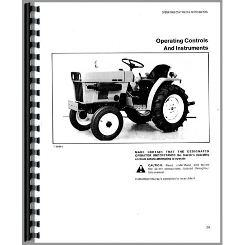 Allis Chalmers 5015 Tractor Operators Manual