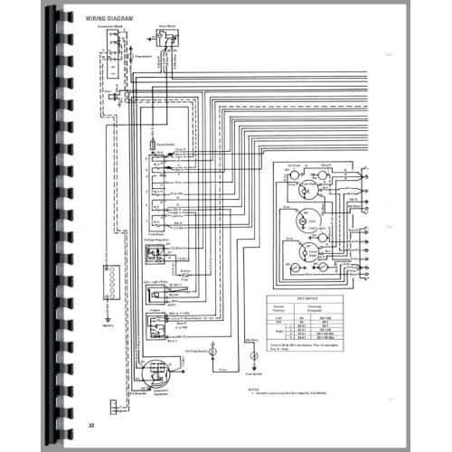 allis chalmers 5040 engine diagram
