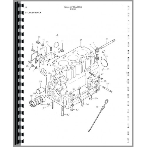 Allis Chalmers 5220 Tractor Parts Manual