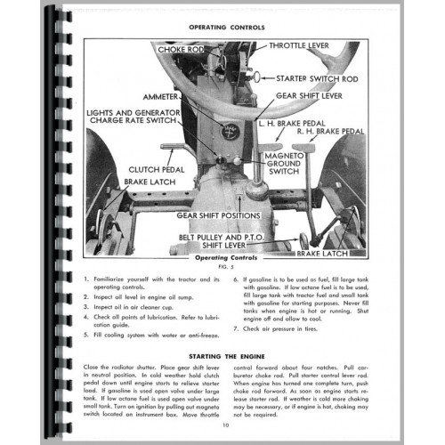 Allis Chalmers 616 Wiring Diagram 1952 Ford 8N Wiring