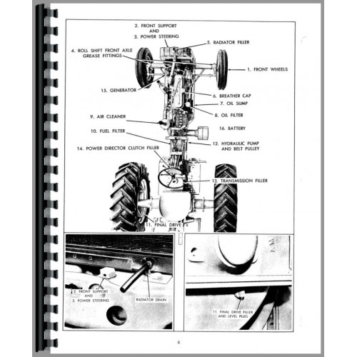 Allis Chalmers D17 Tractor Operators Manual (SN# 24001