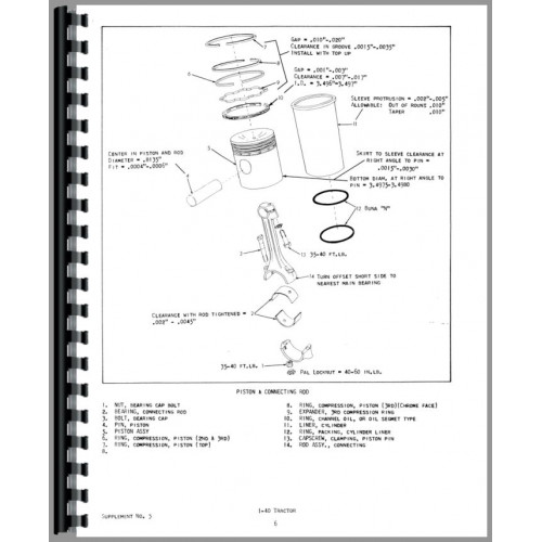 Allis Chalmers I-400 Industrial Tractor Service Manual