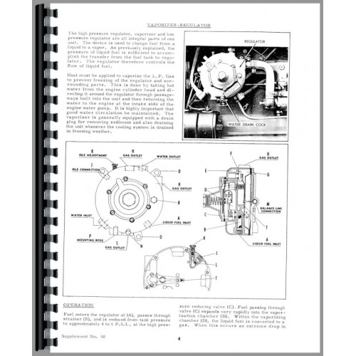 Allis Chalmers Miscellaneous Tractor Service Manual