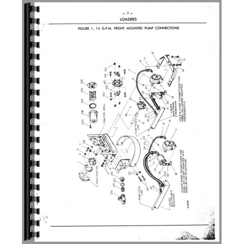 Oliver Wagner Loaders Parts Manual