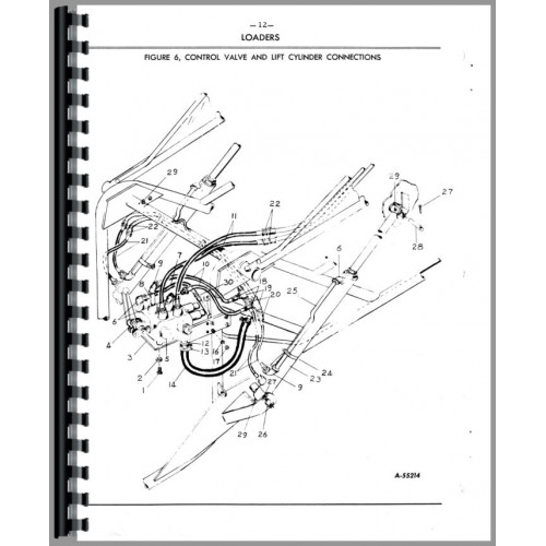 John Deere Wagner Loaders Parts Manual