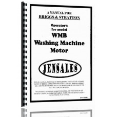 Briggs And Stratton WMB Manuals and DVDs