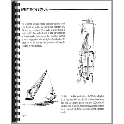 Bantam Crane 350 Plow Operators Manual