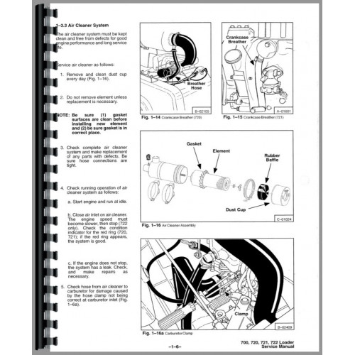 Bobcat 722 Skid Steer Loader Service Manual