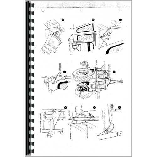 Case 1030 Tractor Service Manual